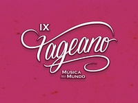 Logotype for a music event