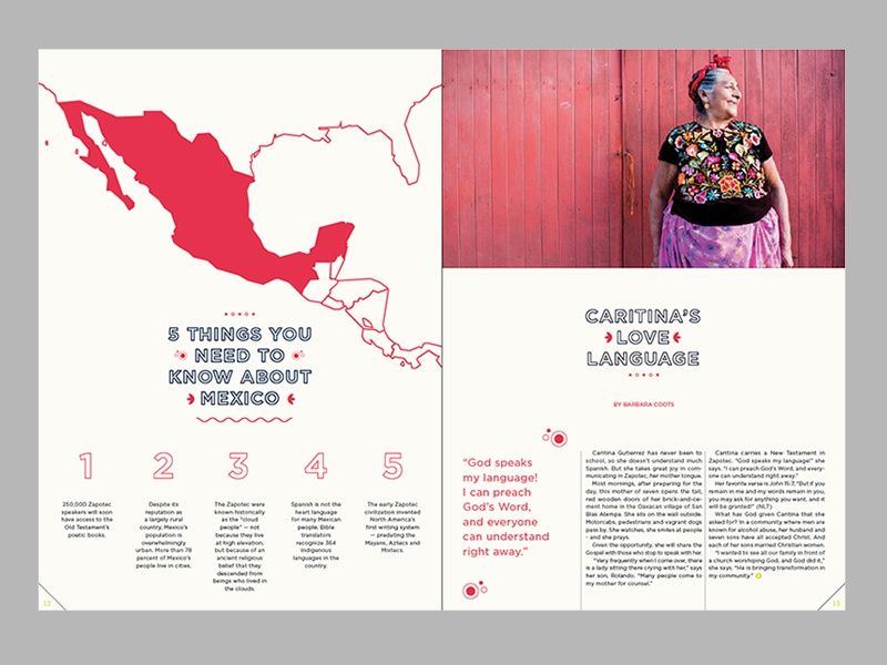 5 THINGS YOU NEED TO KNOW ABOUT MEXICO seed company co:mission print illustration branding layout