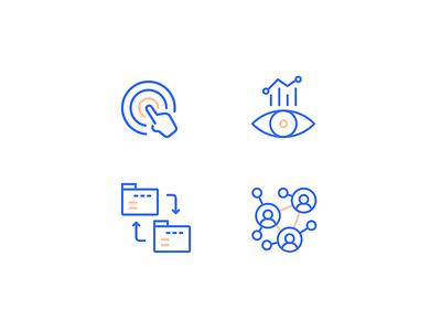 3Si Iconography Concept web design ui branding icon set icons