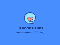 In Good Hands Logo Concept