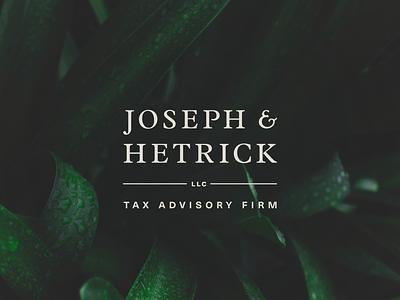 Joseph & Hetrick, LLC Logo website branding design logo typography design branding