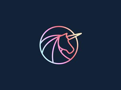 Unicorn Family Guild Logo Concept design illustration logo branding design branding