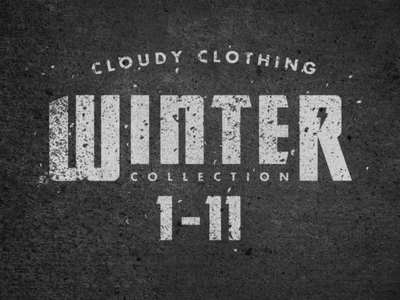 Cloudy Clothing | Winter Collection
