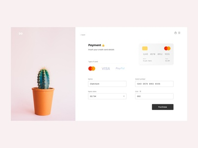 Daily UI - Credit Card Check-Out