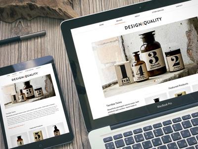 Design and Quality Website