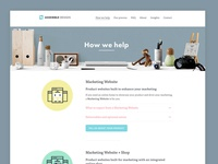 Assemble Design- How we help page