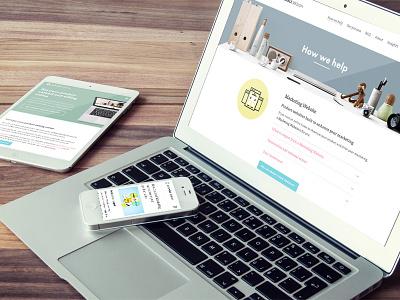 Assemble Design devices responsive sketchapp webdesign website