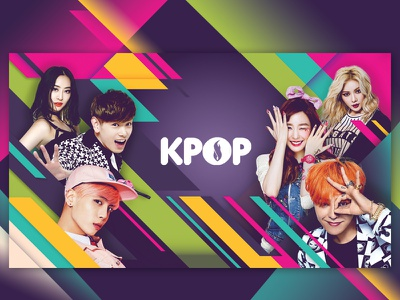 Dramafever Collections logo music kpop korean pop banner website ui graphic design design layout dramafever