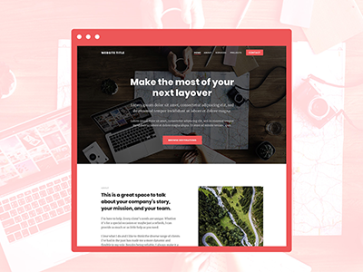 Clean Theme layout design layout website themes website web user interface ui sketch design themes simple ai web design ai abstract