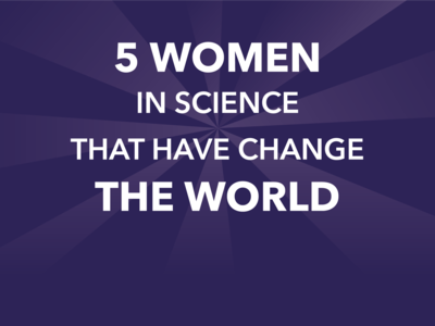 5 women in science that have change the world