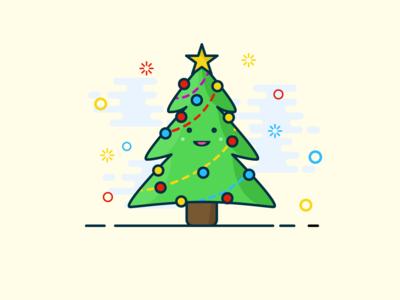 A true Christmas tree