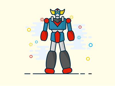 A robot for christmas ;) christmas gift christmas robot design vector illustrator illustration
