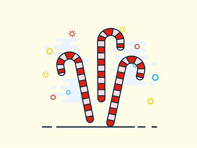 barley sugar christmas gift christmas barley sugar illustrator illustration