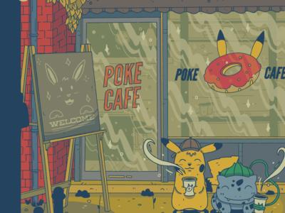 Cozy Detective Pikachu