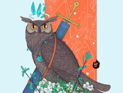 The Mighty Knight Owl