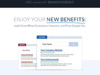 YEC Partnership: Newsletter Email