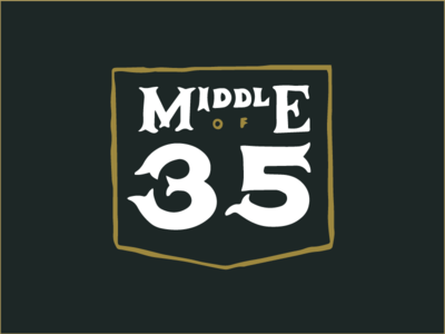 Middle of 35
