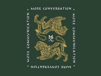 More Conversation More Communication