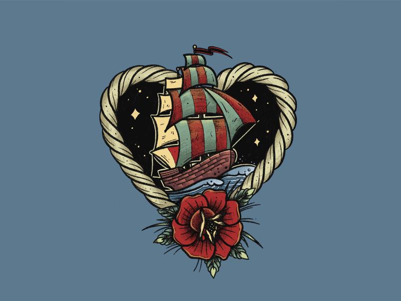Loveship graphicdesign sticker tshirt merchandise design drawing illustration