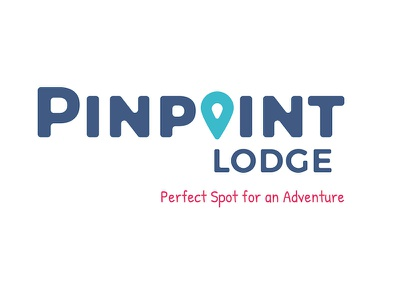 Pinpoint Lodge brand identity b and b adventure branding accommodation tourism ireland hostel logo graphic design