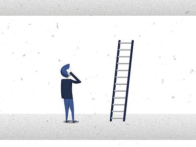 Secret To Success - Event corporate event promotion illustration vector ladder success secret college society commerce ucc
