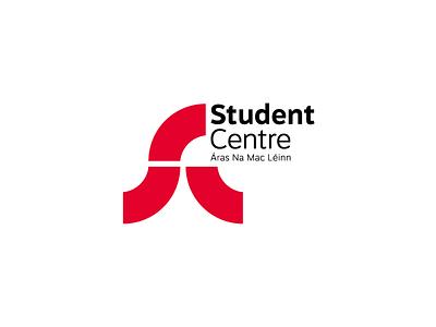 Student Centre Rebrand Proposal logo mark identity brand rebrand student college ucc
