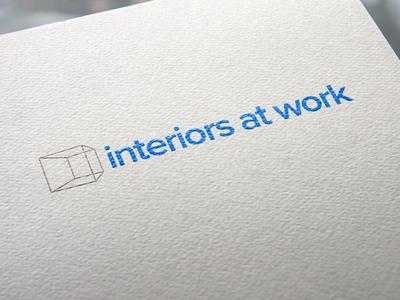 Interiors At Work Logo Rebrand