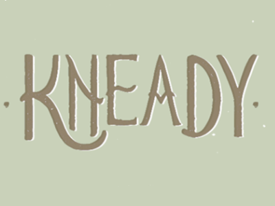 Kneady, Vegan Bakery