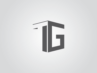 Tg graphics design design branding logo icon