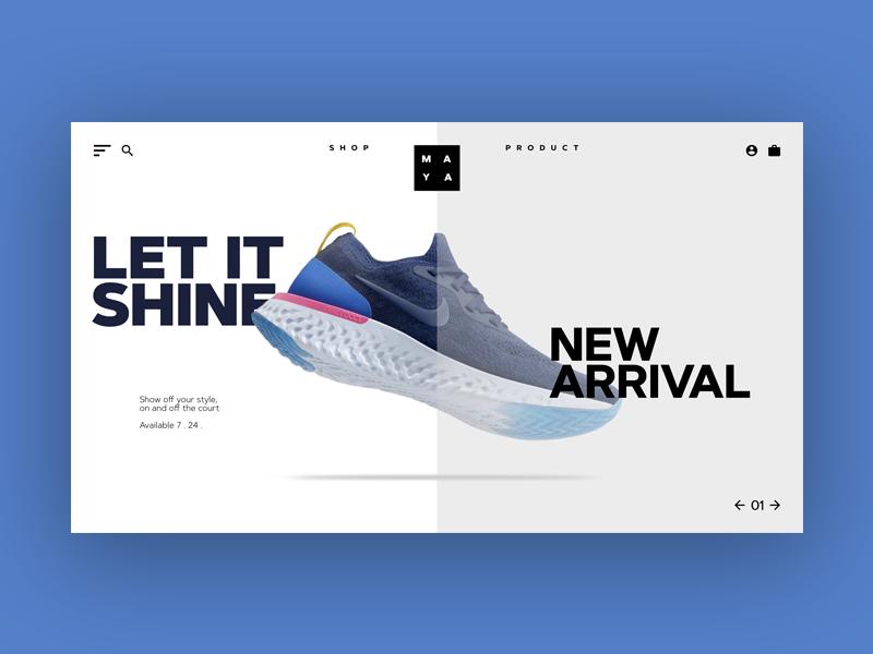Nike Style designer design trending adebolaajose adobecc identity branding uiux digitaldesign landingpage adobelive nike nikefootwear digital