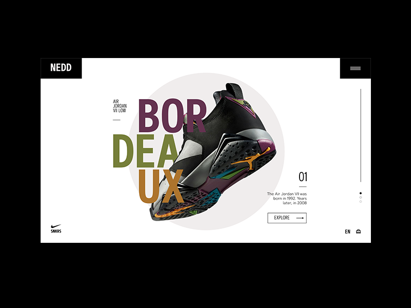 Nike 01 dribbble