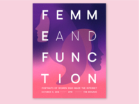Femme and Function Poster
