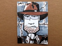 Indiana Jones Sketchcard