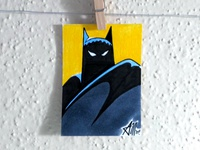 Batman Animated Sketch Card