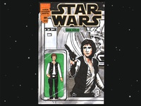 Han Solo Star Wars #1 - Sketch Cover