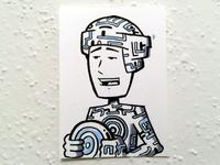 Tron Sketchcard