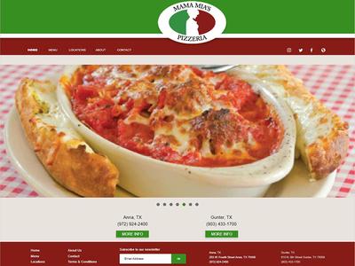 Mama Mia's Pizzeria Concept