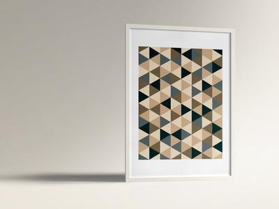 Geometric Poster