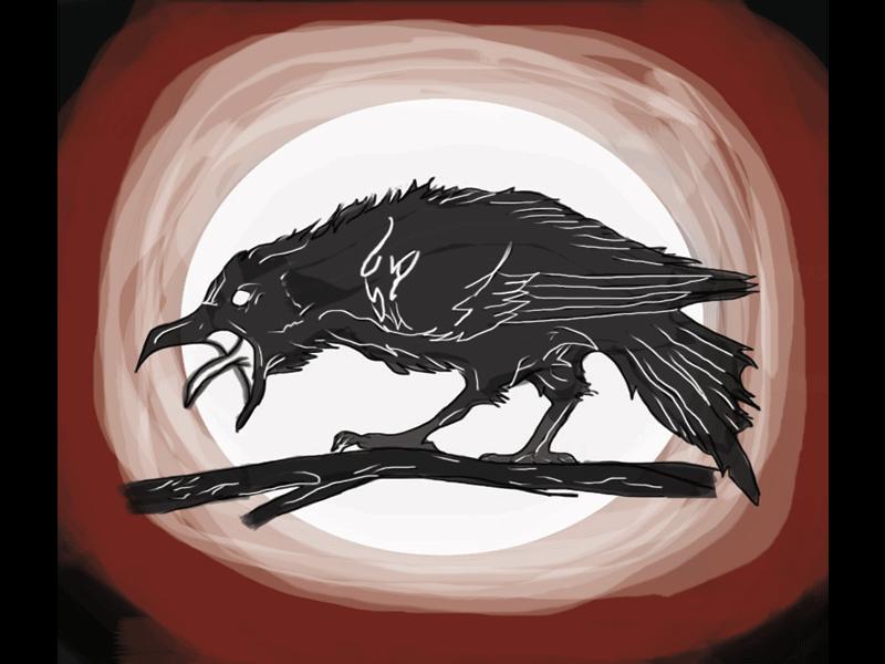 Raven illustration
