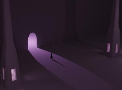 the light light lowpoly blender aesthetic 3d newbie environment