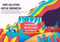 Tolerance flat illustration