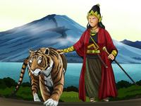 Perempuan Penunggang Harimau