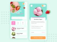 Cute Cream | Ice Cream Shop App