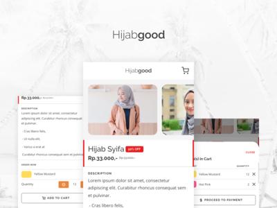 Hijabgood | Single Page App Concept