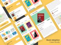 Book Adoption - UX Case Study