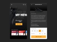 Nike Shoe App Concept
