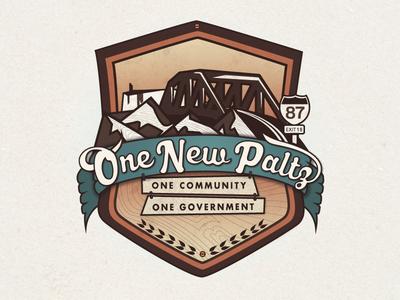 New Paltz, New York Consolidation Logo