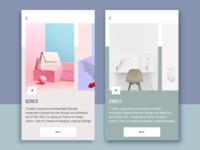 Market UI Design