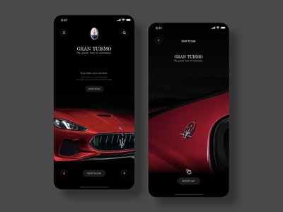 Maserati Concept work illust picture creative uiuxdesign ux design illustration adobe design photoshop uxdesign ios10 uidesign ios12 sketch ios11 ux uiux ios ui