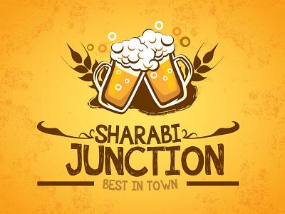 Design Sharabi Juction Poster corporate ad poster branding adobe illustrator vector standee creative art concept design